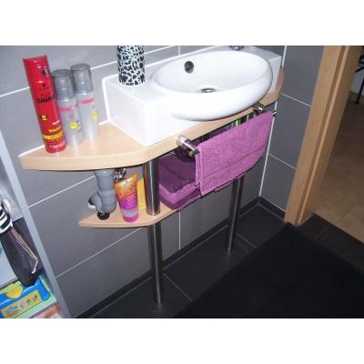 Aufgesetzt Waschbecken werden immer moderner.