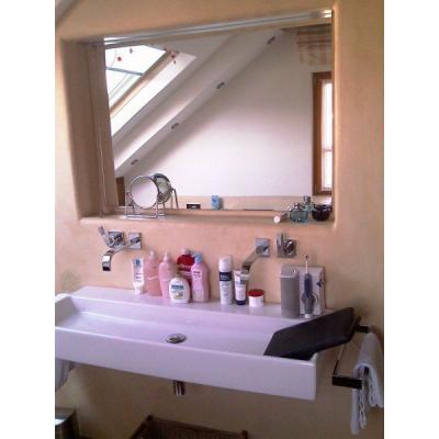 Spiegelschrank mit Klapptüre